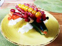 GemüseKrokodil Schnabel auf