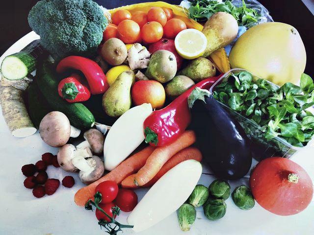 Gemüse schnabel-auf