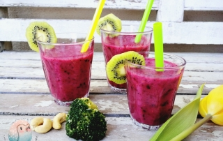 Beeren Brokkoli Smoothie