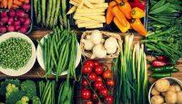 Gemüse Schnabel auf
