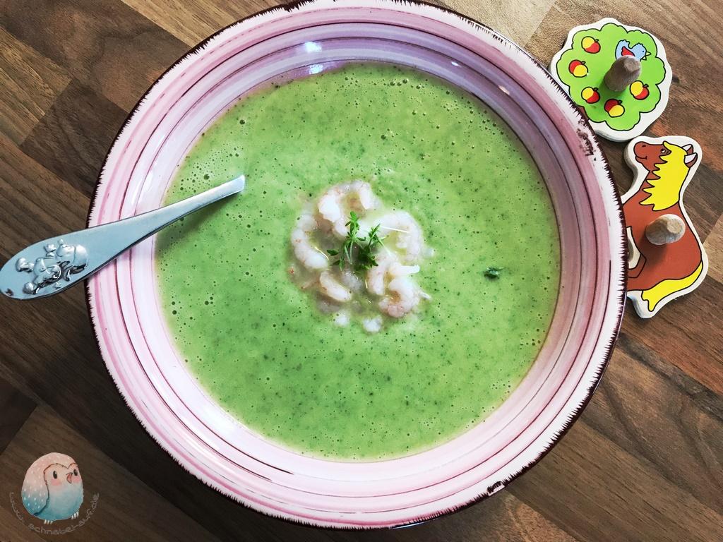 Brokkolicreme Suppe schnabel-auf
