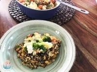 Quinoa Tricolore Auflauf Schnabel-auf