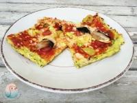 Pizza aus Zucchini schnabel-auf.de