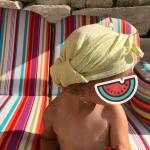 Sonnenschutz Kinder schnabel-auf