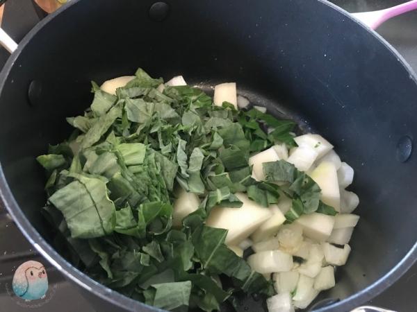 Kohlrabi Suppe schnabel-auf