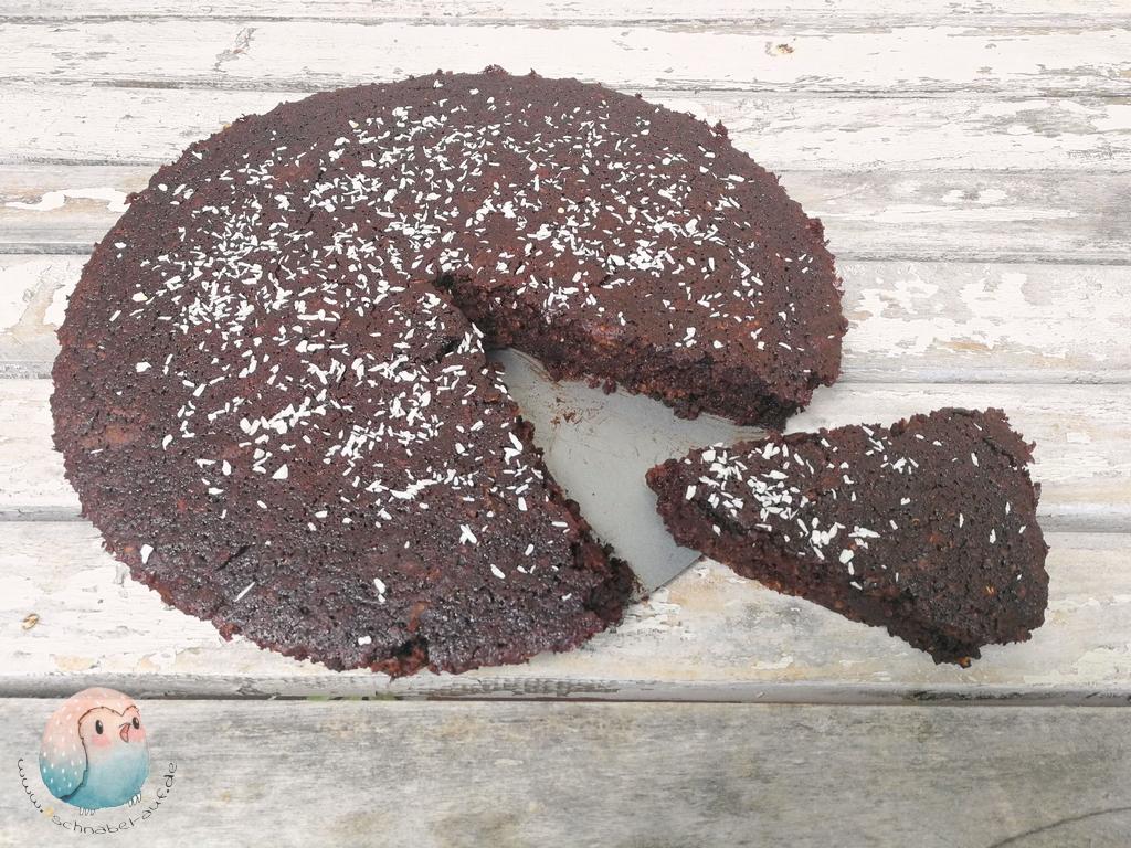 Quinoa Kuchen Mit Kokos Und Kakao Schnabel Auf