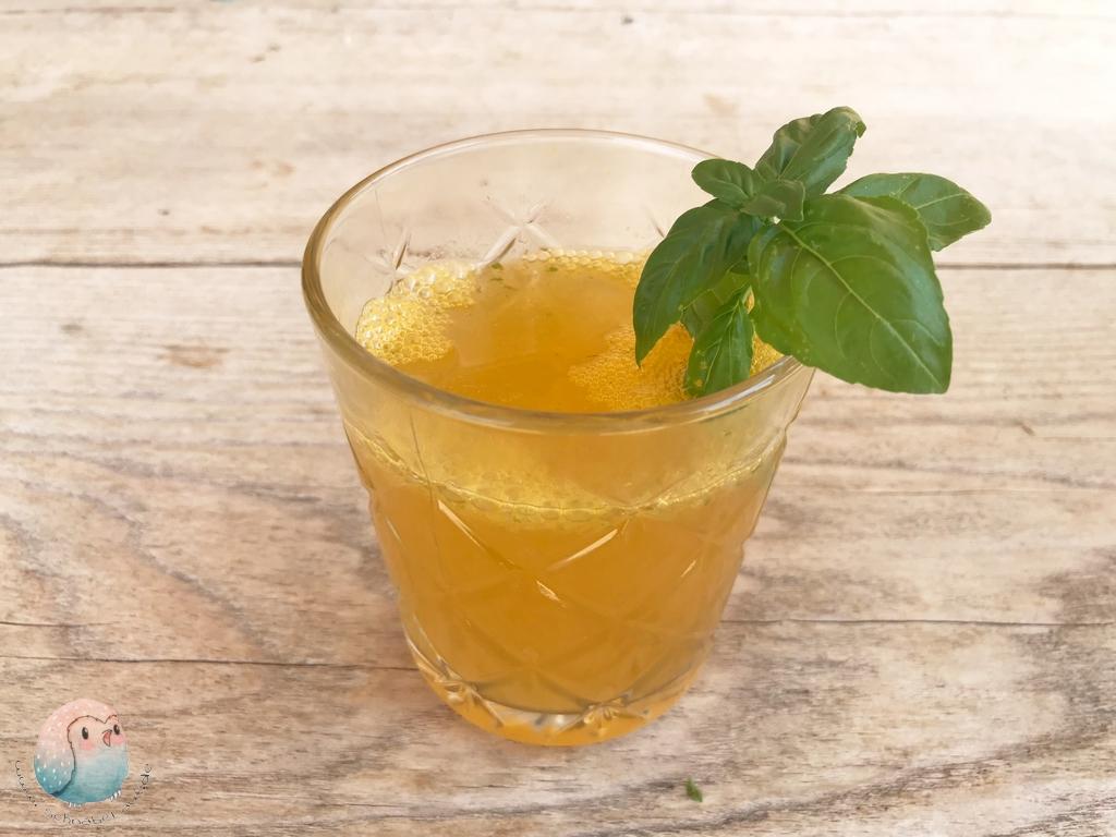Mango Basilikum Limonade