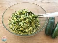 Gurkensalat schnabel-auf