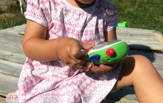 Kind Handy Enspannung MännerTelefon schnabel-auf
