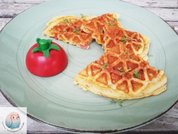 Pizza-Waffeln schnabel-auf.de