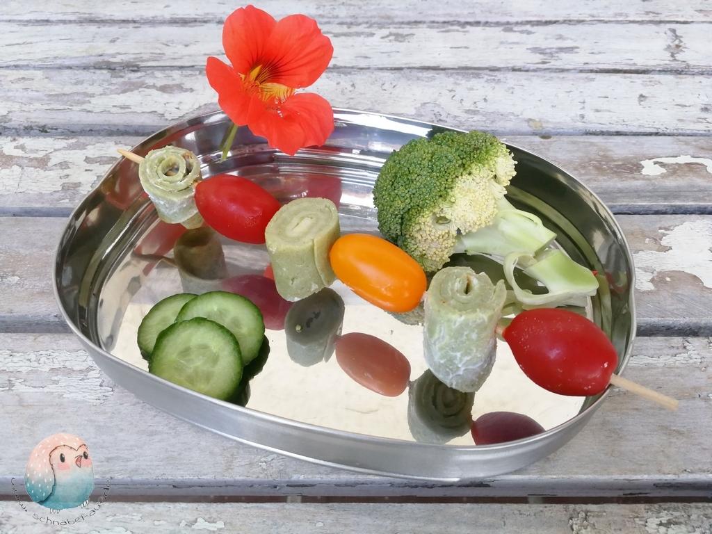 grüne Pfannkuchen sgrüne Pfannkuchen basische Ernährung schnabel-auf.de