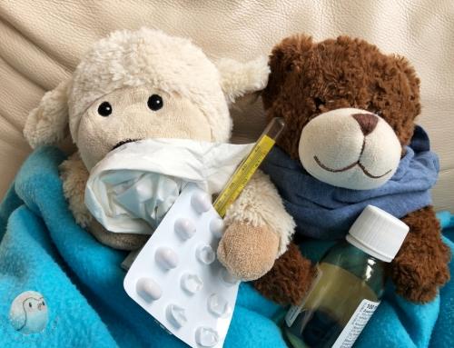 Kranke Papas: Männergrippe gibt es doch!