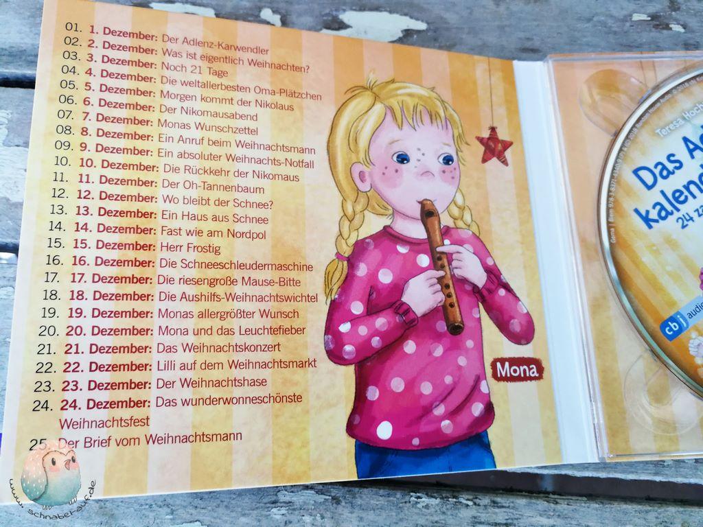 Rezension Adventskalenderhörbuch schnabel.auf.de