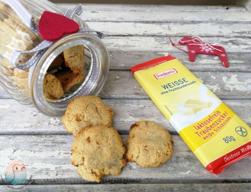 Kokos-Cookies mit weißer Schokolade v. Frankonia