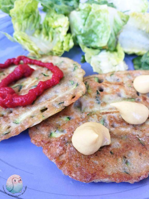 Zucchini Pancakes schnabel-auf.de