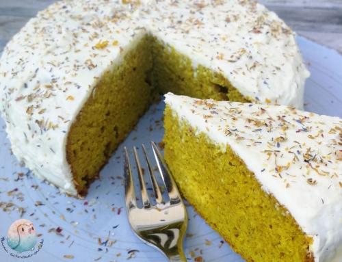 Ayurveda-Kuchen mit Kurkuma