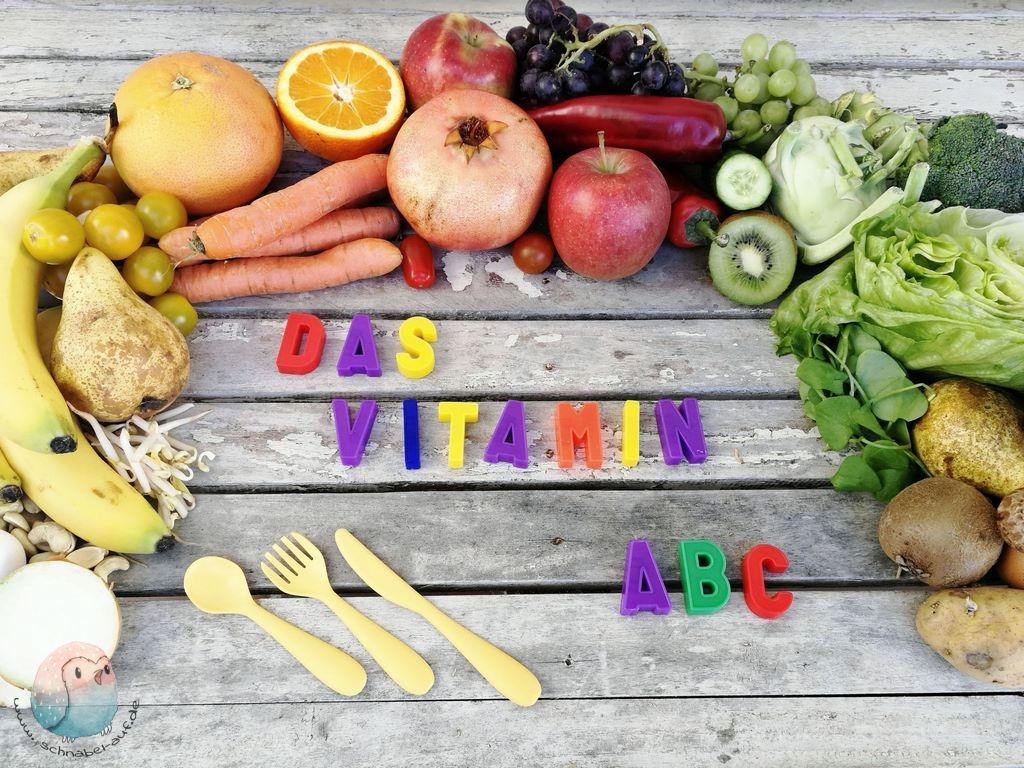 Vitamine für Kinder schnabel-auf.de