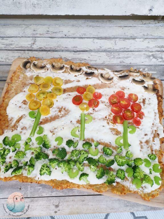 Flammkuchen ohne Mehl schnabel-auf.de