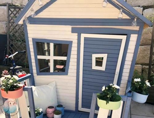 DIY Projekt Spielhaus mit RemmersEco Farben