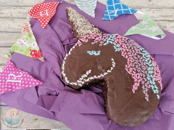 Einhornkuchen glutenfrei schnabel-auf.de