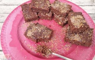 Weihnachtliche Brownies schnabel-auf.de