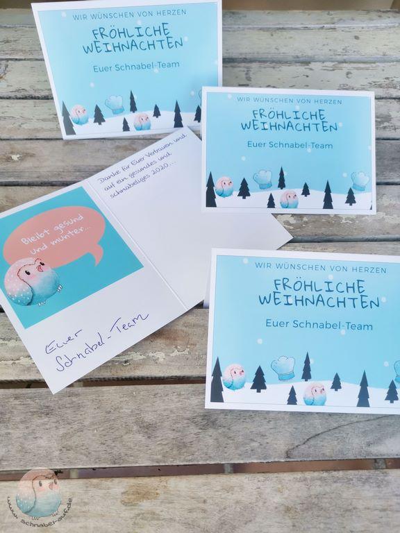Postkarten App für Weihnachts-Postkarten