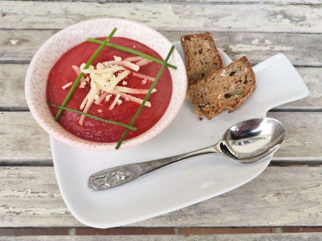 Rote Beete Suppe schnabel-auf.de
