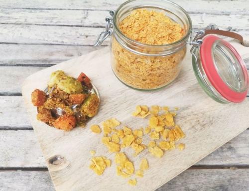 glutenfreie Panade aus Cornflakes