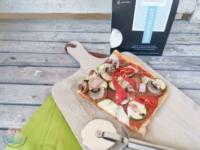 Glutenfreie Pizza mit Komeko schnabel-auf.de