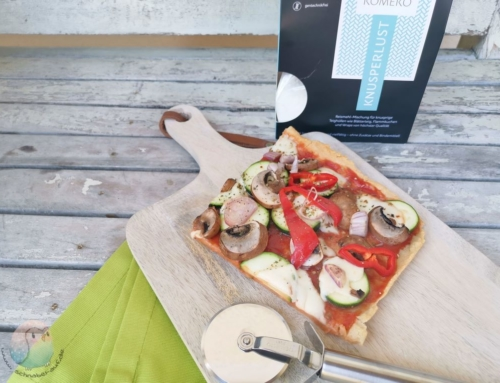 Glutenfreie Pizza mit Komeko