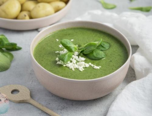 Feldsalat Suppe – allergenfrei und lecker