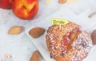 Muffins mit Nektarinen schnabel-auf.de