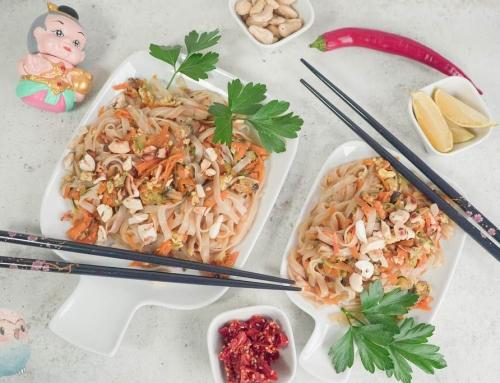 Pad Thai ohne Erdnuss und Zucker